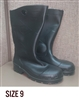 "Dunlop Chesapeake Lite & Mighty 14"" Steel Toe PVC Boot - SIZE 9"