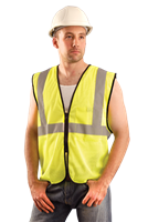 Mesh Single Stripe Safety Vest