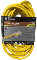50' 12 Gauge Extension Cord