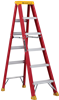 Series L-3016 6' Louisville Fiberglass Step Ladder