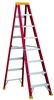 Series L-3016 8' Louisville Fiberglass Step Ladder
