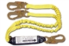 FrenchCreek 6' Dual Leg Shock Absorbing Lanyard 440AS