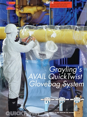 QT-14 Horizontal Glove Bag