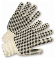 West Chester Dotted String Knit Gloves