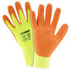 West Chester Hi-Vis Yellow HPPE Orange Foam Nitrile Palm Coated Glove