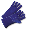 "West Chester Premium Split Cowhide 14"" Blue Glove"