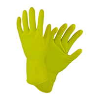 West Chester Yellow Latex Gloves
