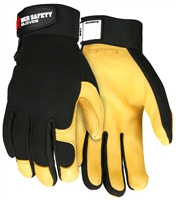 MCR Heavy Duty Grain Deerskin Glove
