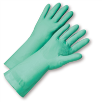 West Chester Standard Flock Lined Nitrile Gloves