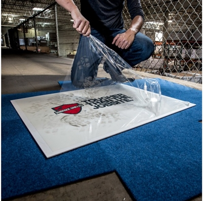 Step N Peel Clean Mat with Platform