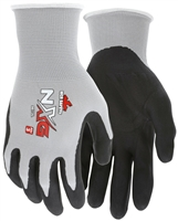 MCR 13-Gauge Nitrile Foam Dipped Glove