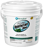 Benefect Disinfectant Wipes Light Lemon & Thyme Scent