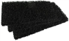 "6"" x 9"" Heavy Duty Scrub Pads - Black"