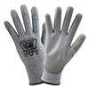 West Chester Speckled Gray HPPE Gray PU Palm Glove