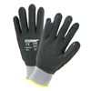 West Chester Black Microfoam Nitrile Full Dip Dotted Palm Glove