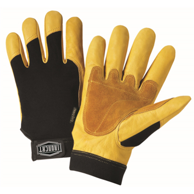 West Chester Premium Heavy Duty Grain Cowhide Palm Glove