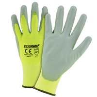 West Chester Hi-Vis Shell PU Palm Glove