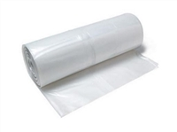 2 mil Clear Polyethylene Sheeting