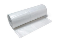 6 mil Clear Polyethylene Sheeting