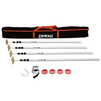 ZipWall 4-Pack Plus Kit (12')