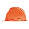 MSA V-Gard Cap Hi-Viz Orange Hard Hat Small