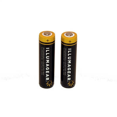 Halo 2-pack Batteries Lithium Ion Rechargeable