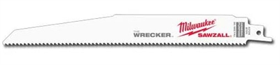 "9"" The Wrecker - Milwaukee Sawzall Demo Blade"