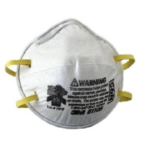 3M 8210 N95 Dust Mask Without Exhalation Valve