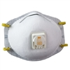 3M 8511 N95 Dust Mask With Exhalation Valve
