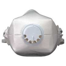Honeywell North N100 Dust Mask With Exhalation Valve (Recommended For L.R.R.P.)