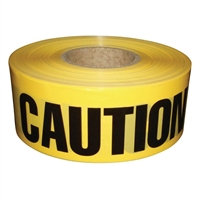 Yellow Caution Barricade Tape