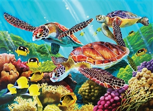 Family Pieces 350 Molokini Current jigsaw puzzle | Item 54610 | Cobble Hill Puzzle Co