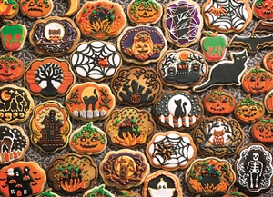 Family Pieces 350 Halloween Cookies jigsaw puzzle | Item 54612 | Cobble Hill Puzzle Co