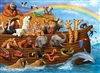 350pc Family Puzzle Voyage of the Ark jigsaw puzzle by Cobble Hill Puzzle Co. (mixed piece sizes)