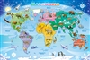 35pc World Map Tray jigsaw puzzle | Item 58893 | Cobble Hill Puzzle Company