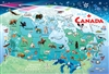 35pc Canada Map Tray jigsaw puzzle | Item 58894 | Cobble Hill Puzzle Company