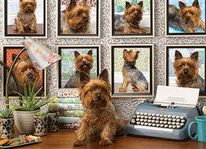 1000pc Yorkies Are My Type jigsaw puzzle | 80038 | Cobble Hill Puzzle Co