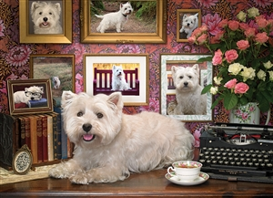 1000pc Westies Are My Type jigsaw puzzle | 80039 | Cobble Hill Puzzle Co