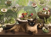 1000pc Terrarium Cat jigsaw puzzle | 80049 | Cobble Hill Puzzle Co