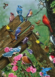 1000pc Birds of the Forest jigsaw puzzle by Cobble Hill Puzzle Co.