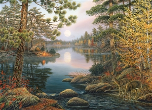 1000pc Deer Lake jigsaw puzzle | 80139 | Cobble Hill Puzzle Co