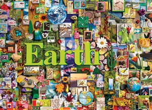 1000pc Earth (Elements Collection by Shelley Davies) jigsaw puzzle by Cobble Hill Puzzle Co.