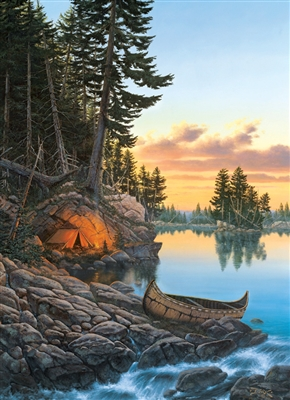 1000pc Evening Glow jigsaw puzzle by Cobble Hill Puzzle Co.