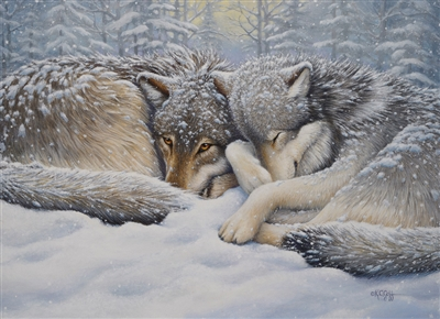 1000pc Winter Repose jigsaw puzzle by Cobble Hill Puzzle Co.