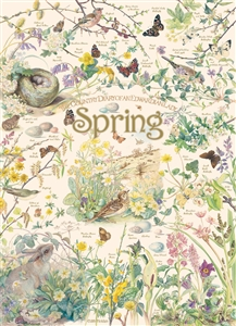 1000pc Country Diary: Spring  jigsaw puzzle by Cobble Hill Puzzle Co.