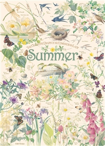 1000pc Country Diary: Summer jigsaw puzzle by Cobble Hill Puzzle Co.