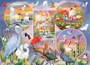 1000pc Waterbird Magic jigsaw puzzle by Cobble Hill Puzzle Co.