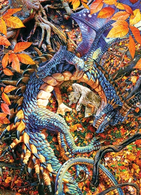 1000pc Abby's Dragon jigsaw puzzle by Cobble Hill Puzzle Co.