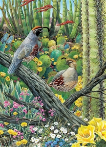 1000pc Courtship jigsaw puzzle by Cobble Hill Puzzle Co.