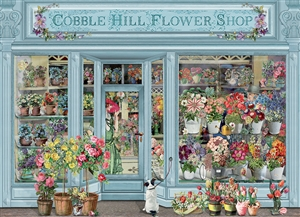 Parisian Flowers 1000pc jigsaw puzzle by Cobble Hill Puzzle Co.
